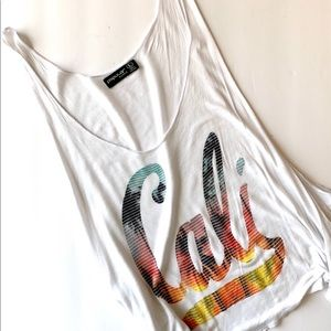 Cali Tank Top, Size Large